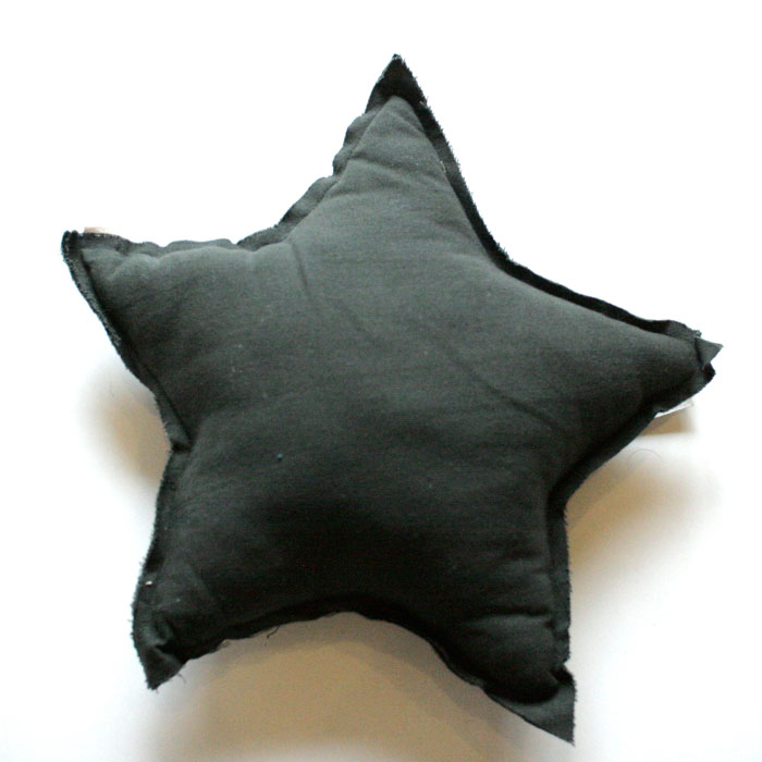 Numero 74 ヌメロ 【L】 Star Cushions  星のクッション Deep grey 52×52cm S021 by イタリア