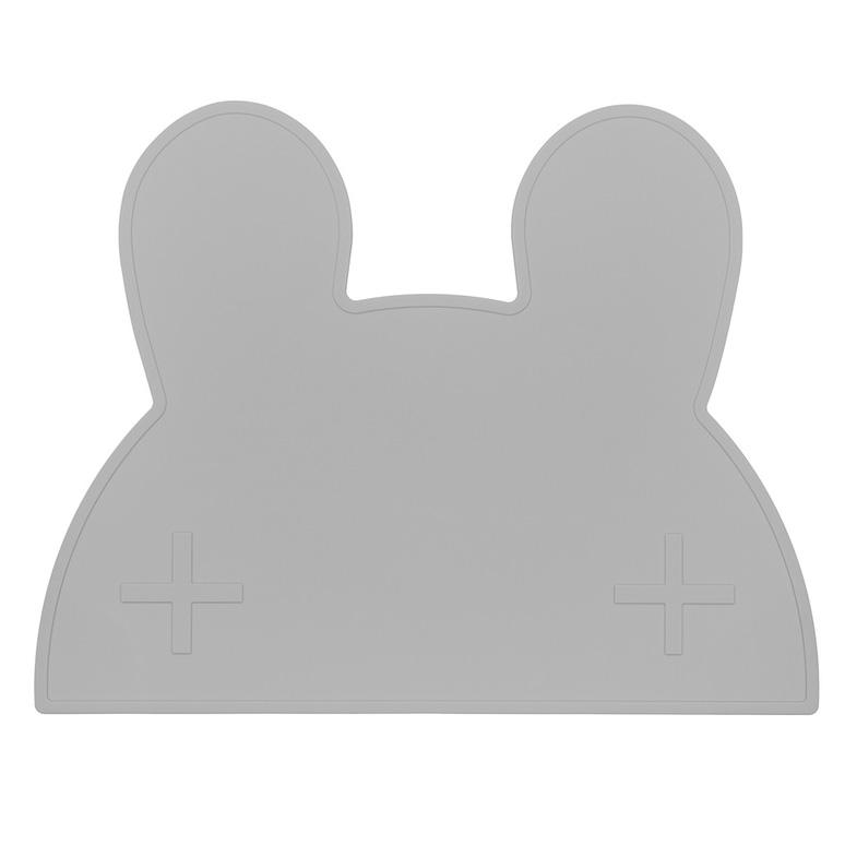 オーストラリアから We might be tiny シリコン製プレイスマット お食事マット Bunny Placie-Gray