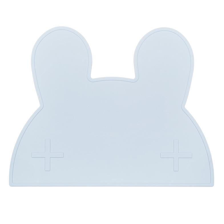 オーストラリアから We might be tiny シリコン製プレイスマット お食事マット Bunny Placie-Blue