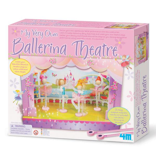 ●4M バレリーナシアター Ballerina Theatre マグネット人形で監督になっちゃおう