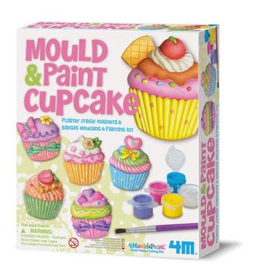 ●4M モールド & ペイントカップケーキ Mould & Paint Cup Cake マイカップケーキキット