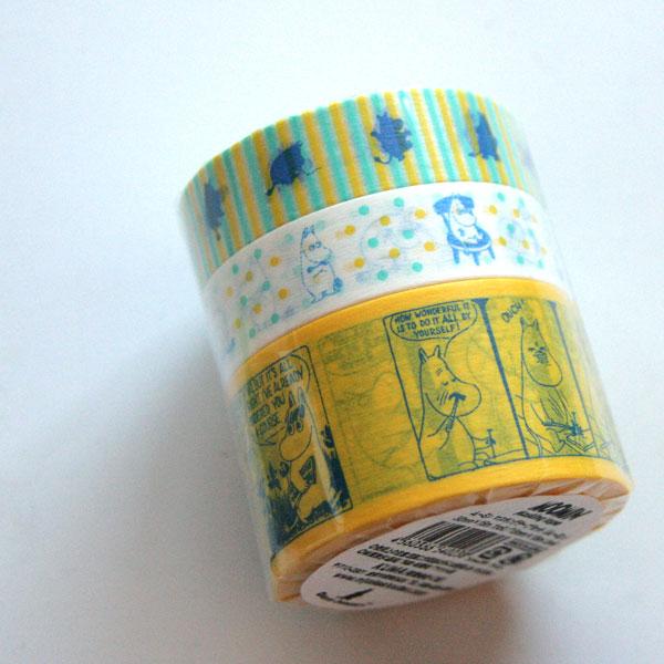 mt マスキングテープ MOOMIN ムーミン 『ムーミン』3個セット