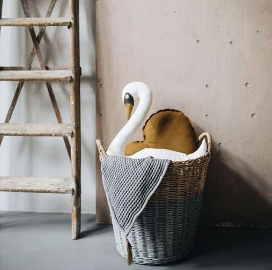 Numero 74 ヌメロ Basket バイカラー Large 口径 約45cm 高さ 約40ccm