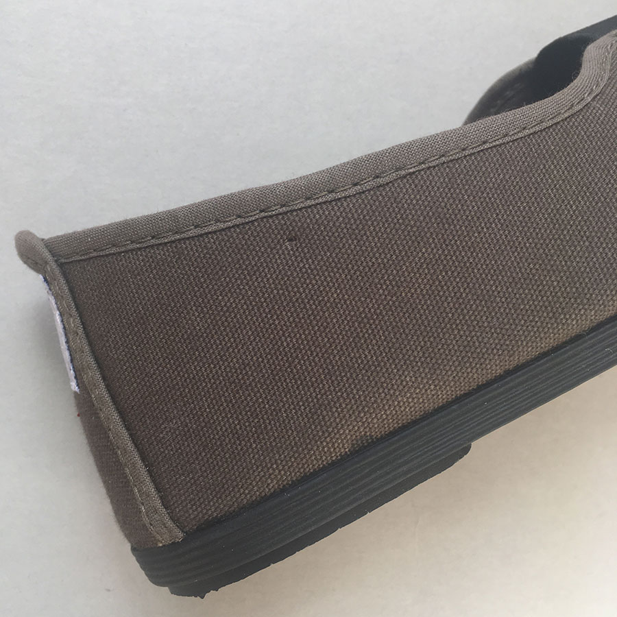 La Cadena GIMNASIA - Panel Slip On  Beige / Black 上履き 22.5-24cm