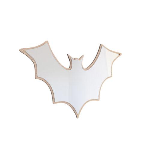 デンマークから Maseliving メーセリビング オーク材 ×壁掛けミラー Bat 約30 x 40cm