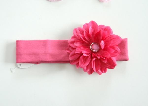 【-60%再下】Gigis ジジス お花の帽子が有名なジジス フラワーコットンヘアバンド Hot Pink_11(Sorbet Baby) 0-2歳/2-5歳