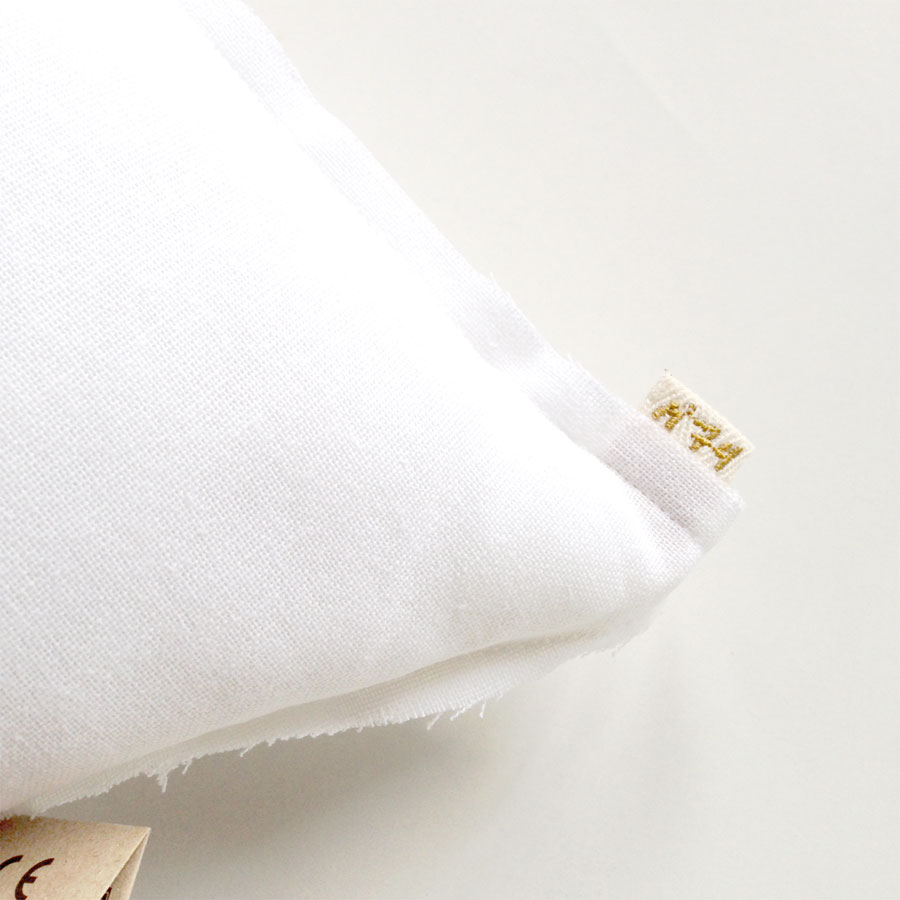 Numero 74 ヌメロ  【L】Star Cushions 星のクッション  52×52cm s001 white  by イタリア
