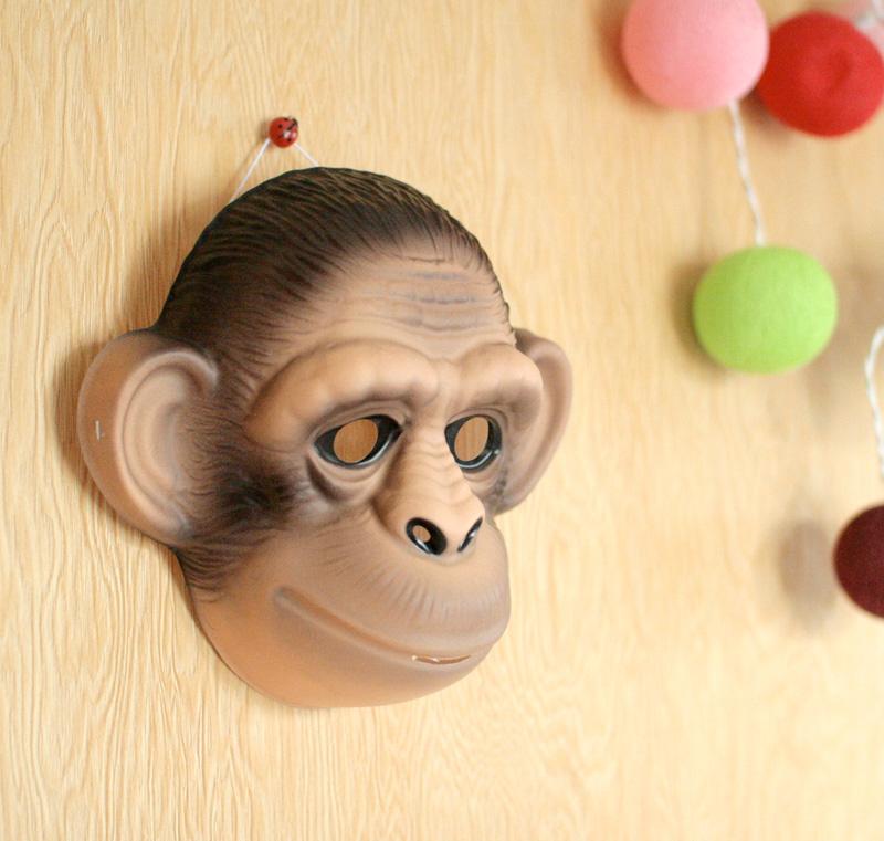 クリックポスト不可 Animal Mask アニマルマスク Monkey さる
