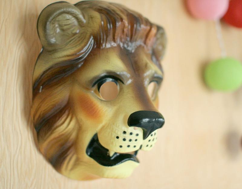 クリックポスト不可 Animal Mask アニマルマスク Lion ライオン