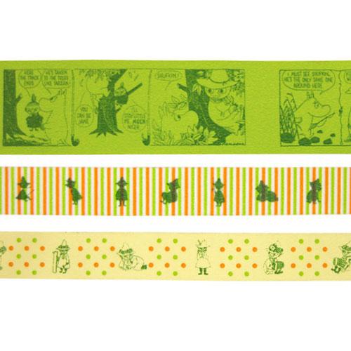 mt マスキングテープ MOOMIN ムーミン 『スナフキン』3個セット