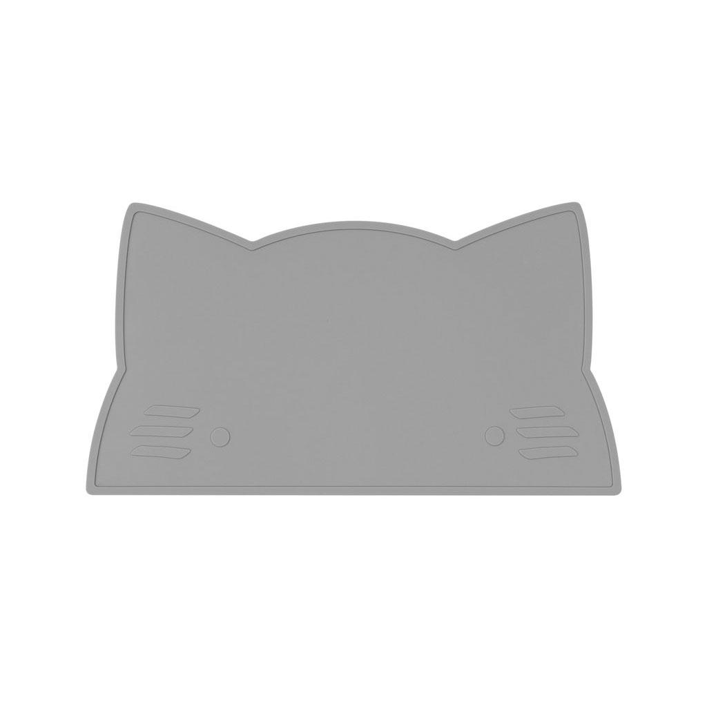 オーストラリアから We might be tiny シリコン製プレイスマット お食事マット Cat Placie-GRAY