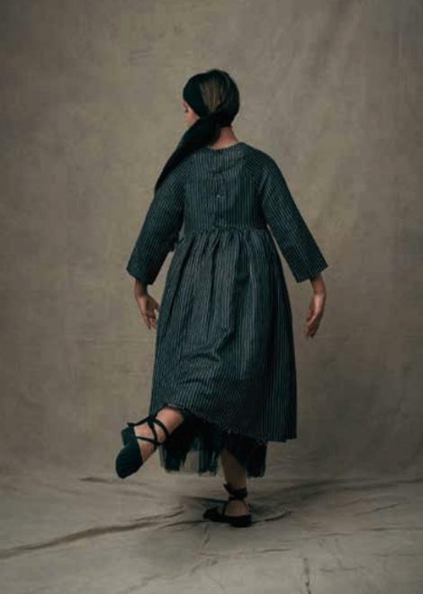 ●little crative factory スペインから  18SS Tap Dress 2Y/4Y/6Y/- BLACK