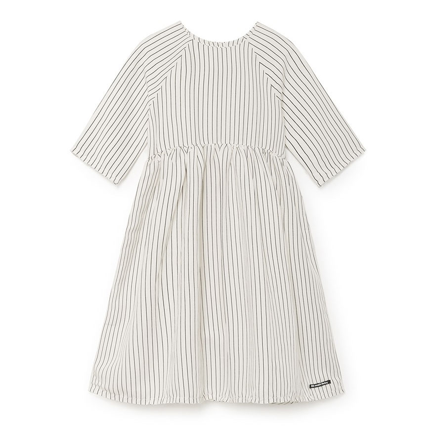 ● little crative factory スペインから  18SS Tap Woman Dress  大人S-M/大人M-L WHITE