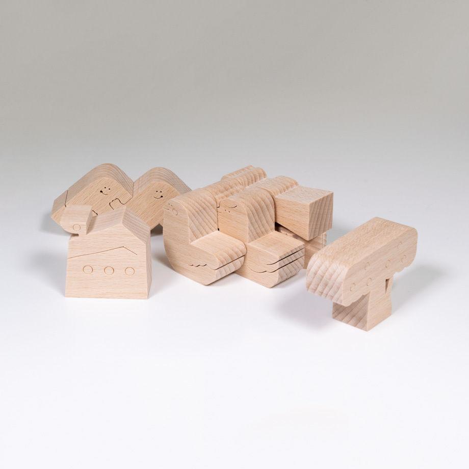 IRIKI polycube puzzle cube 形合わせボックス