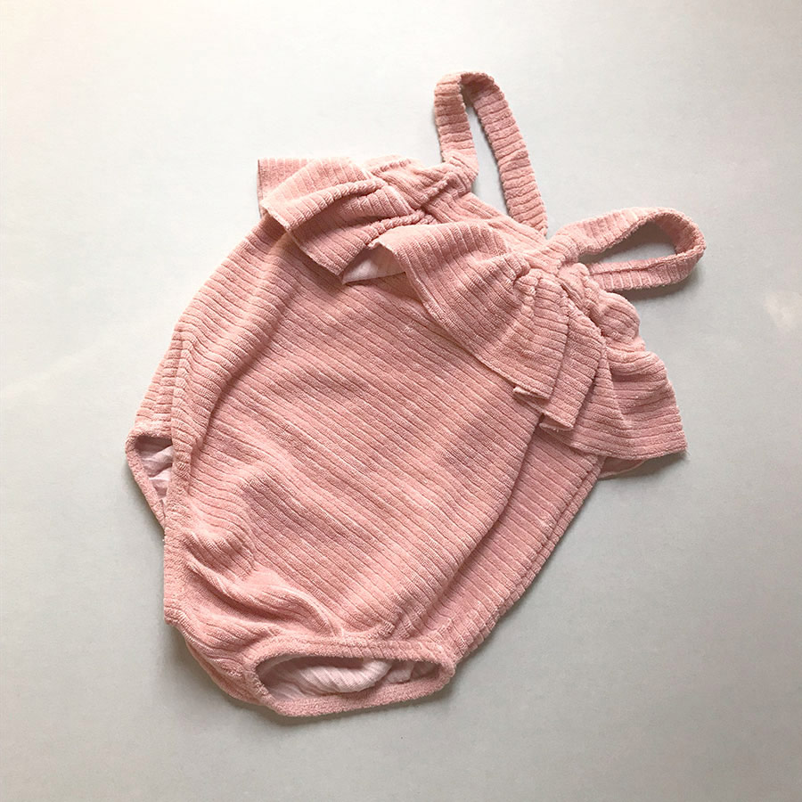 [50%OFF] From spain 1+in the family STINTINO girly romper -/80/90 ROSE 1+in the family ワンモアインザ・ファミリー\肌着・ロンパース・ボディ