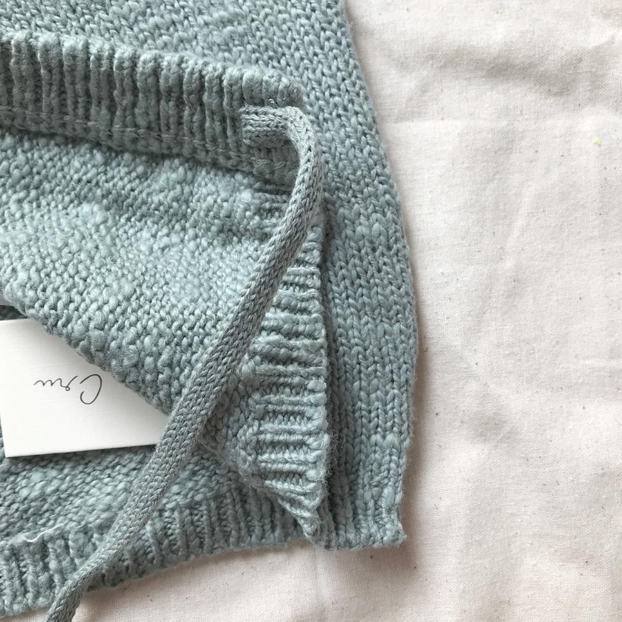 [40%OFF]ロサンゼルスから Rylee & Cru  pixie hat dusty blue 6-12M/12-18M [ネコポス対応OK]