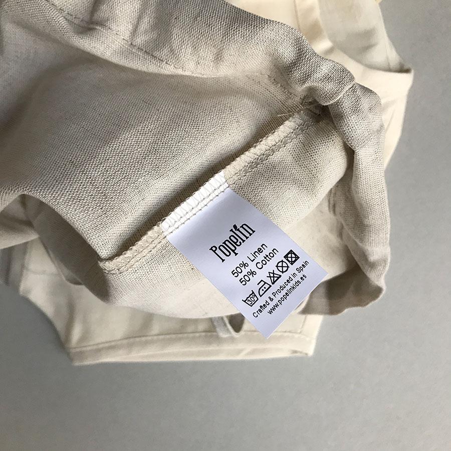 [50%OFF] From Spain Popelin  Natural yolk shirt 80-90/-/-/110-120/120-130/-/-