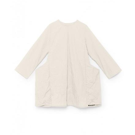 ● little crative factory スペインから  17AW  Alma's Pocket Dress -/4Y/6Y-/-/-/- WHITE