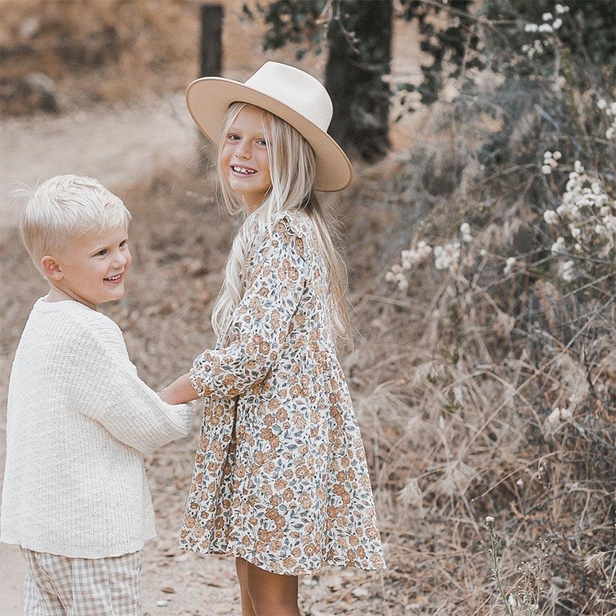 ●ロサンゼルスから Rylee & Cru  bloom piper dress 2-3Y/4-5Y/6-7Y/8-9Y  [ネコポス対応 不可]