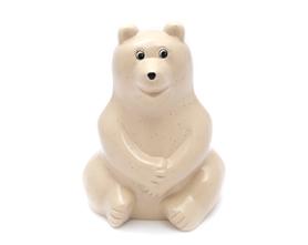 Polar Bear Money Box フィンランド銀行ノベルティ復刻 白クマ貯金箱