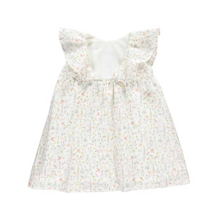 ●ロンドンから OLIVIER Amberlily Dress, Theo Pale Pink 100-110/110-120/120-130