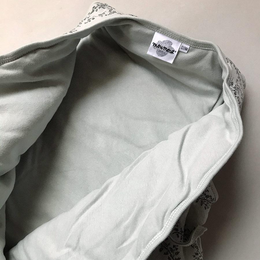 moumout' paris SLEEPY Kimono Quilted Sleeping Bag in arundel by My Moumout オーガニックコットンおくるみ 12M/2-3Y スリーパー