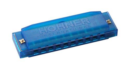 ドイツから HORNER ホーナー 10穴ハーモニカ カラーハープ プラスチック製 C調
