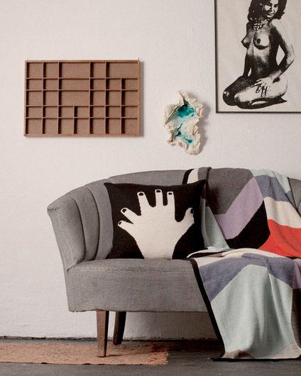 ●LUCKYBOYSUNDAY ラッキーボーイサンデー bobby chair pillow / garden  サークルクッション