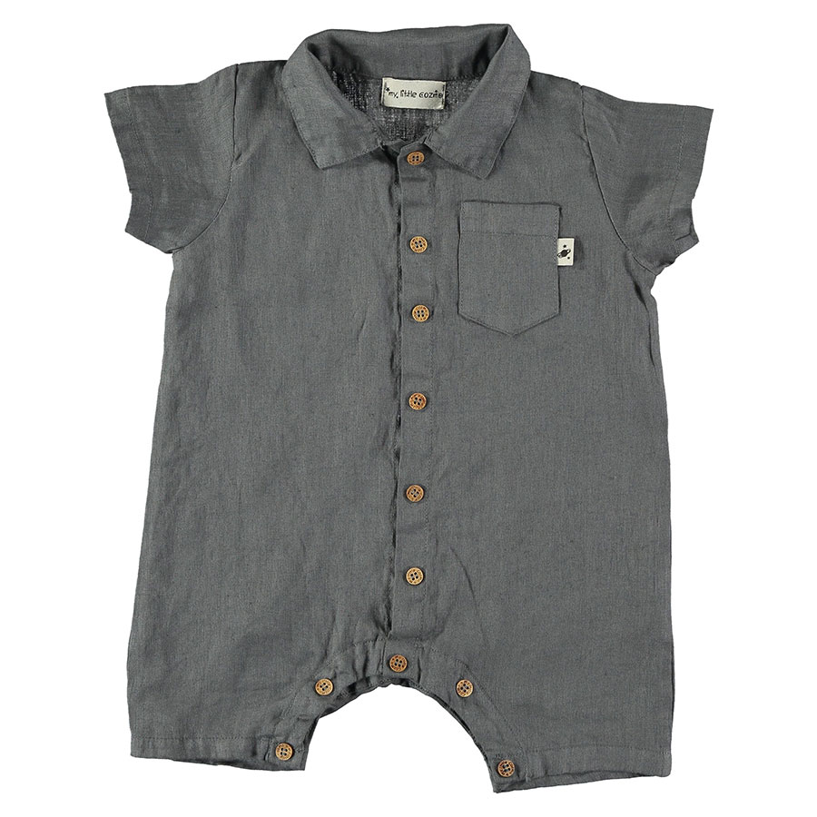 ●From spain MY LITTLE COZMO ROMPER BABY - MATEO85 /カラー D.GREY -/ 80/-