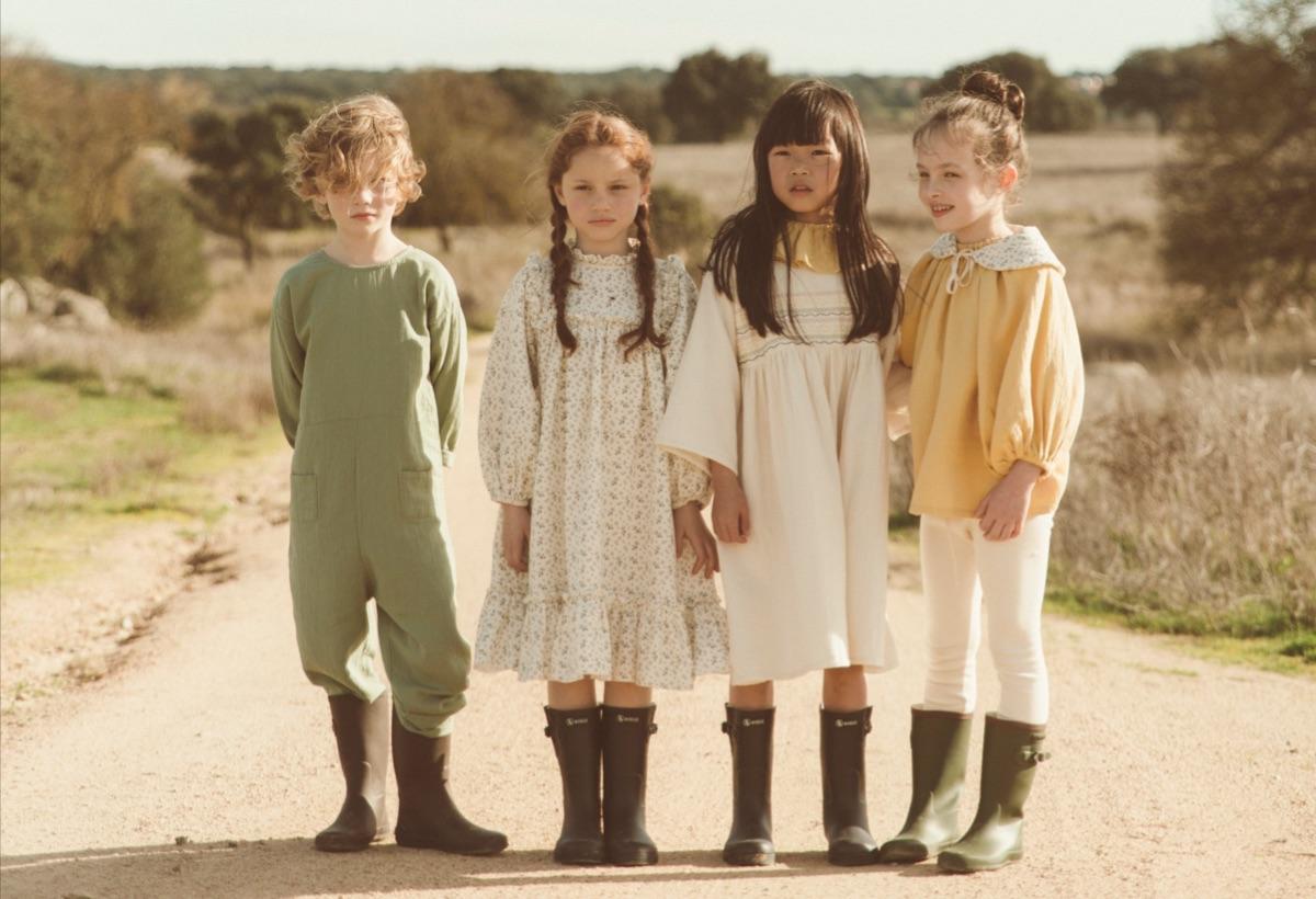From Germany liilu Liana Dress  1-2/2-4/4-6/6-8/8-10/10-12y Olive