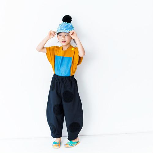 ● frankygrow フランキーグロウ 4UNEVEN DOTS BIG PANTS -/-/L/-