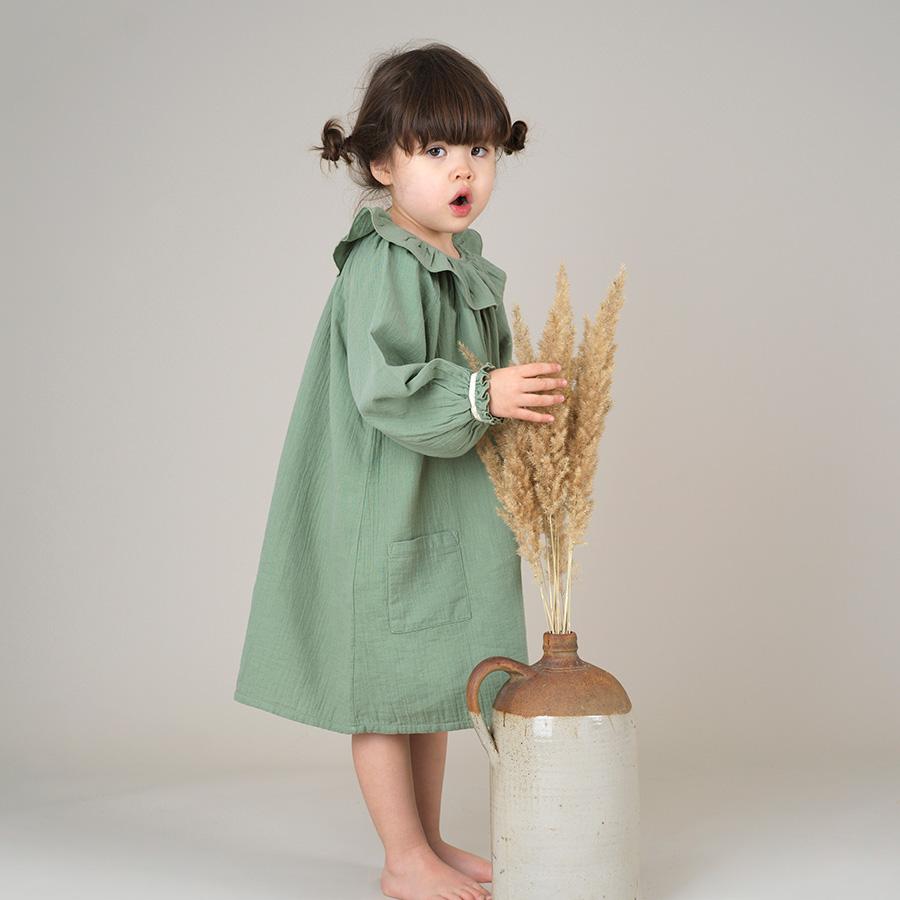 ●From Germany liilu oana dress 1-2/2-4/-/-/- Mustard