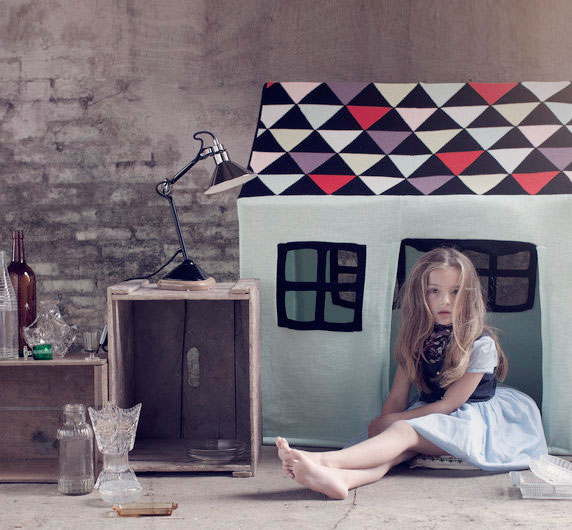●LUCKYBOYSUNDAY ラッキーボーイサンデー  pretty eye chair pillow / green  サークルクッション