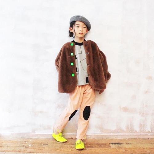 【60% OFF】frankygrow 3PATTERNS BEAR MT KNEE PATCH SWEAT PANTS OL Mサイズ