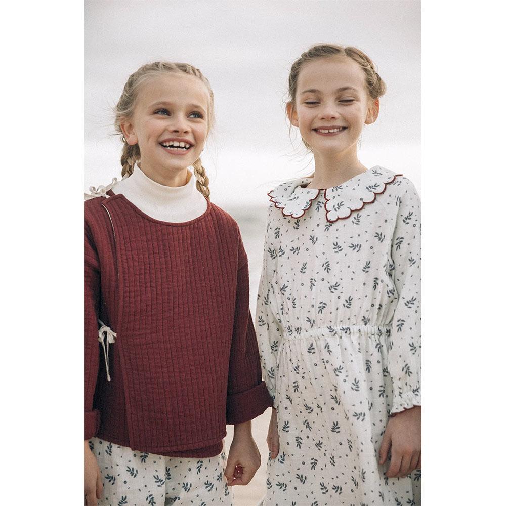 From Germany LIILU Penelope Dress  Winter blossom organic cotton  12M/2Y/4Y/-