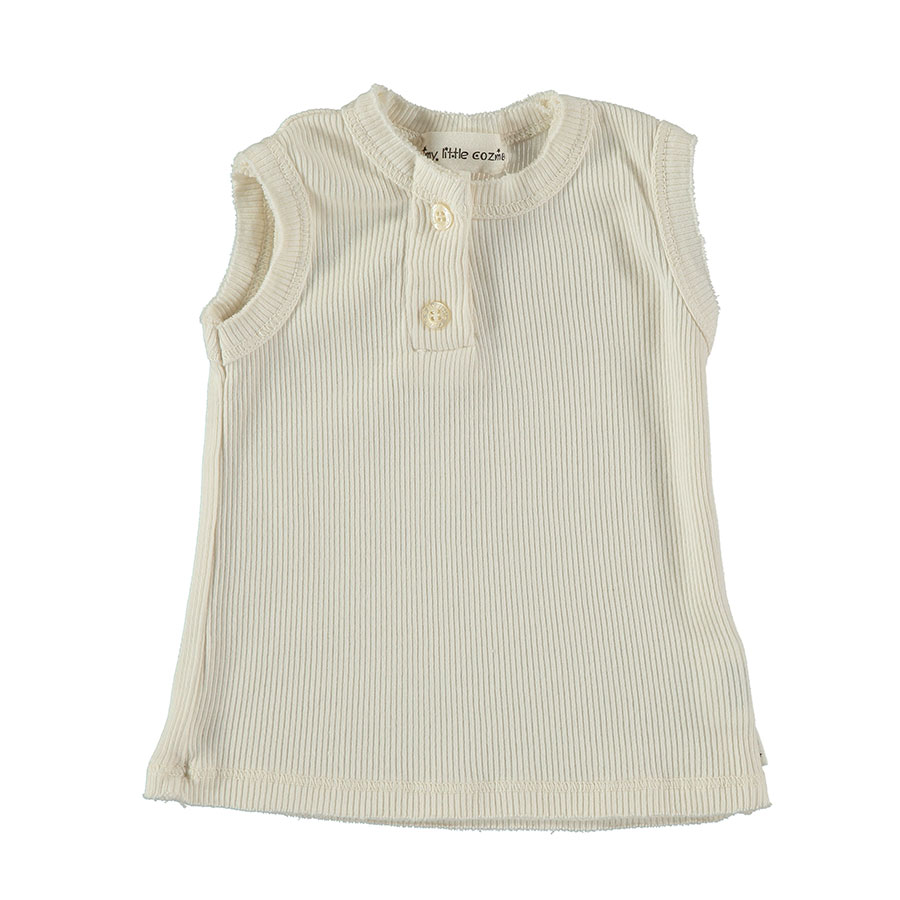 [50%OFF] From spain MY LITTLE COZMO TOP FRANCIS37  オーガニック ORGANIC/カラーIVORY 80/90 My Little Cozmo\トップス