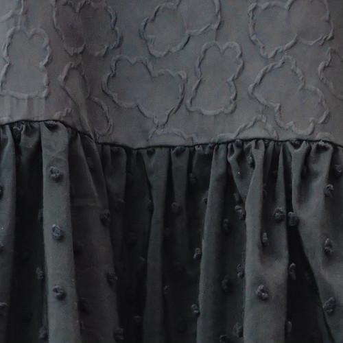 ●DOUBLE CIRCLE GATHER DRESS -BEAR MT/BONBON CUT JQ WOMEN