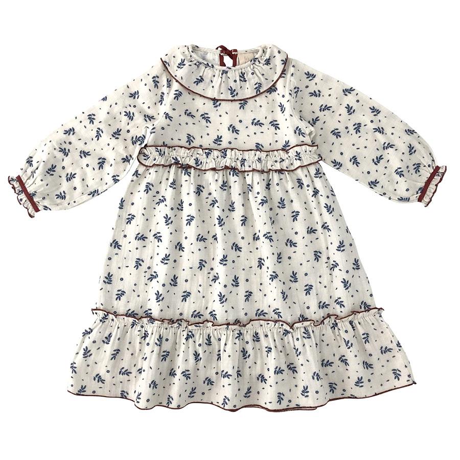 From Germany LIILU Oana Dress  Winter blossom organic cotton  2Y/4Y/
