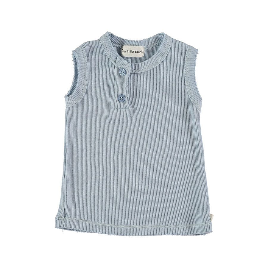 [30%OFF]From spain MY LITTLE COZMO TOP FRANCIS37  オーガニック ORGANIC/カラーBLUE 80/90