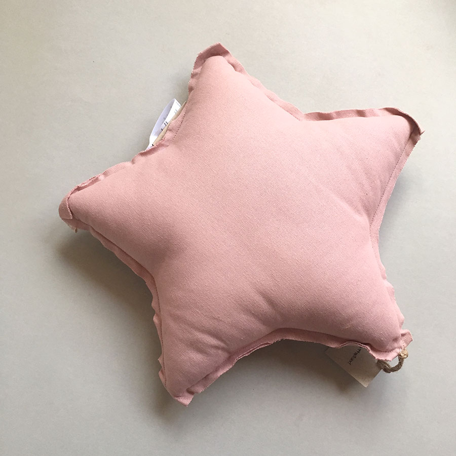 Numero 74 ヌメロ  【S】Star Cushions  星のクッション ライトピンク 42×42cm lite1 by イタリア