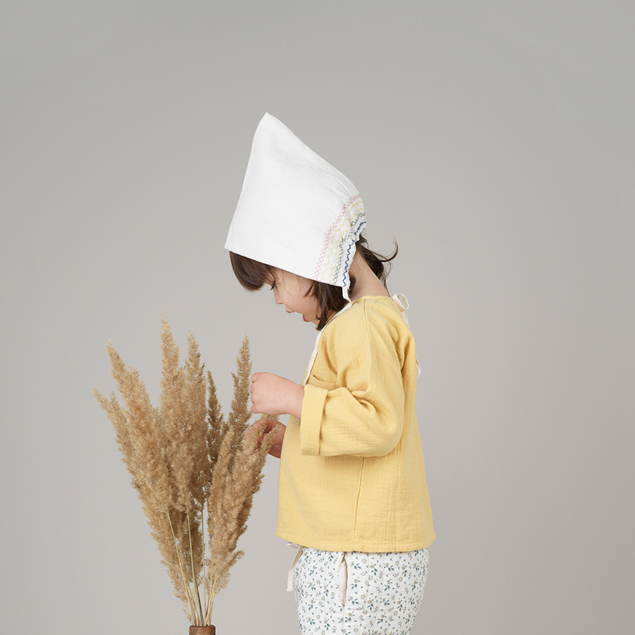 [30%OFF] From Germany liilu pixie bonnet organic cotton [※1 クリックポスト可] Mustard S/M