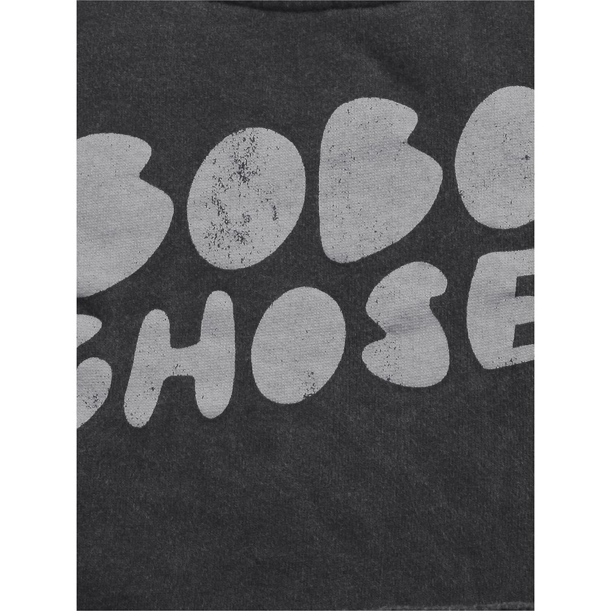 From spain Bobo Choses cropped sweatshirt 100/110/120/130/140-150/150-160 オーガニックコットン100%