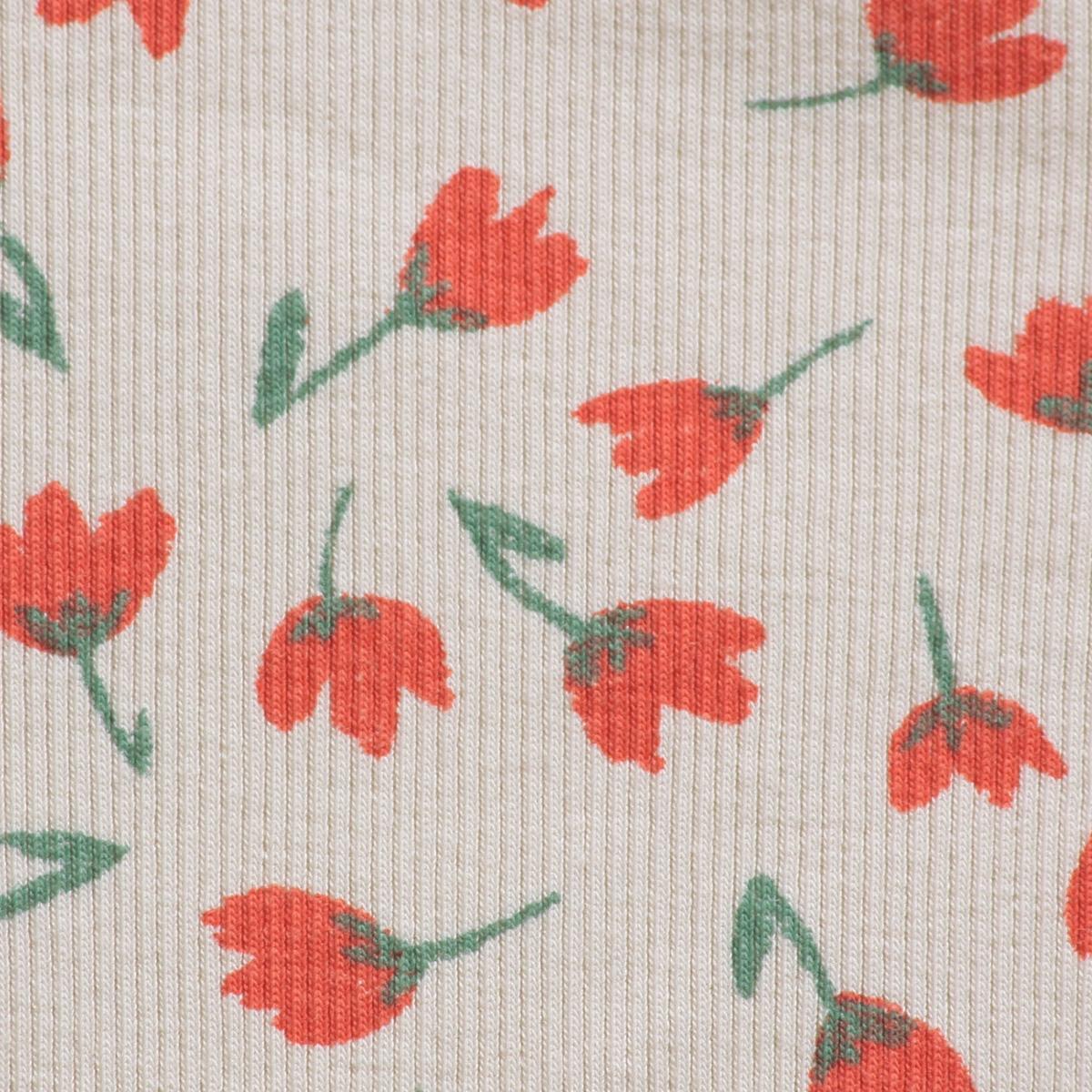 From spain Bobo Choses Flowers All Over body 6-12M/12-18M オーガニックコットン