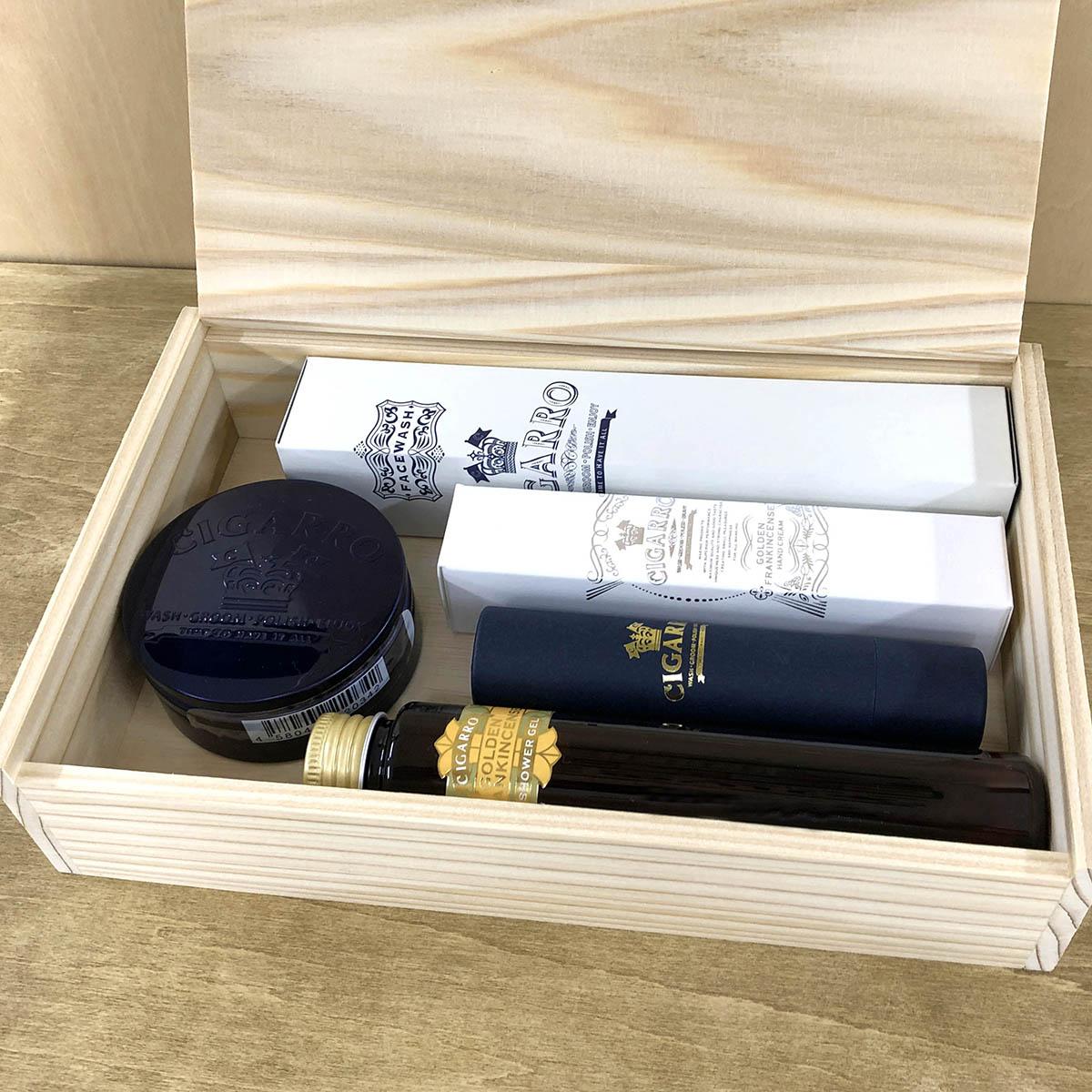 オリジナル 木製ギフトボックス L