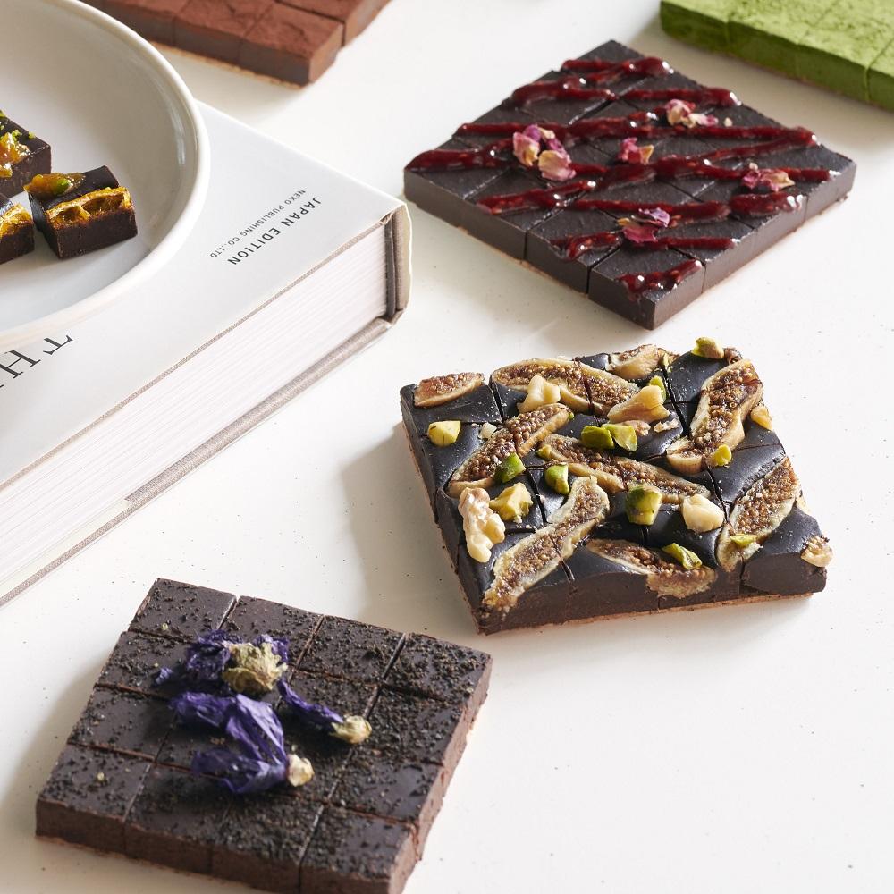 【お好きな3種(3箱)】ヴィーガン生チョコレート