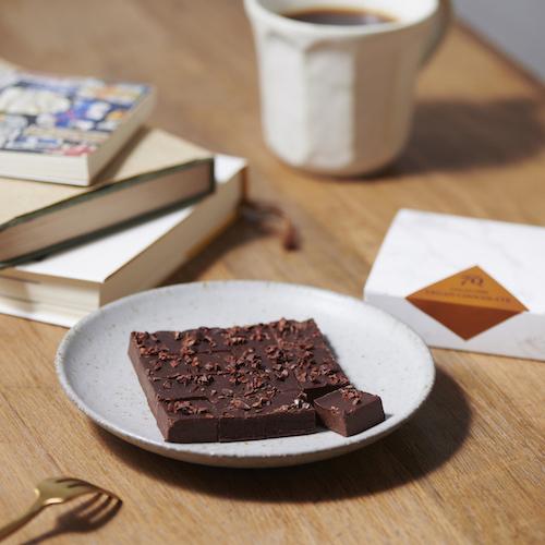 【ハイカカオ70% 3種(3箱)】ヴィーガン生チョコレート ※乳製品、乳化剤、白砂糖不使用