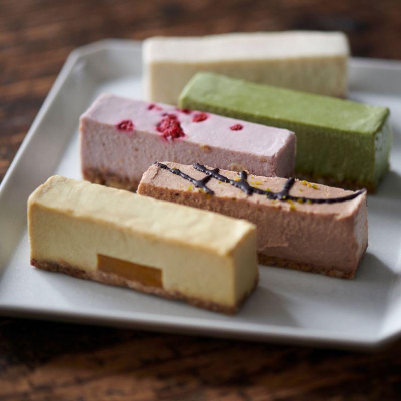 【全種】冷たいヴィーガンローケーキ(10本セット)※ 卵・バター・乳・小麦・白砂糖不使用