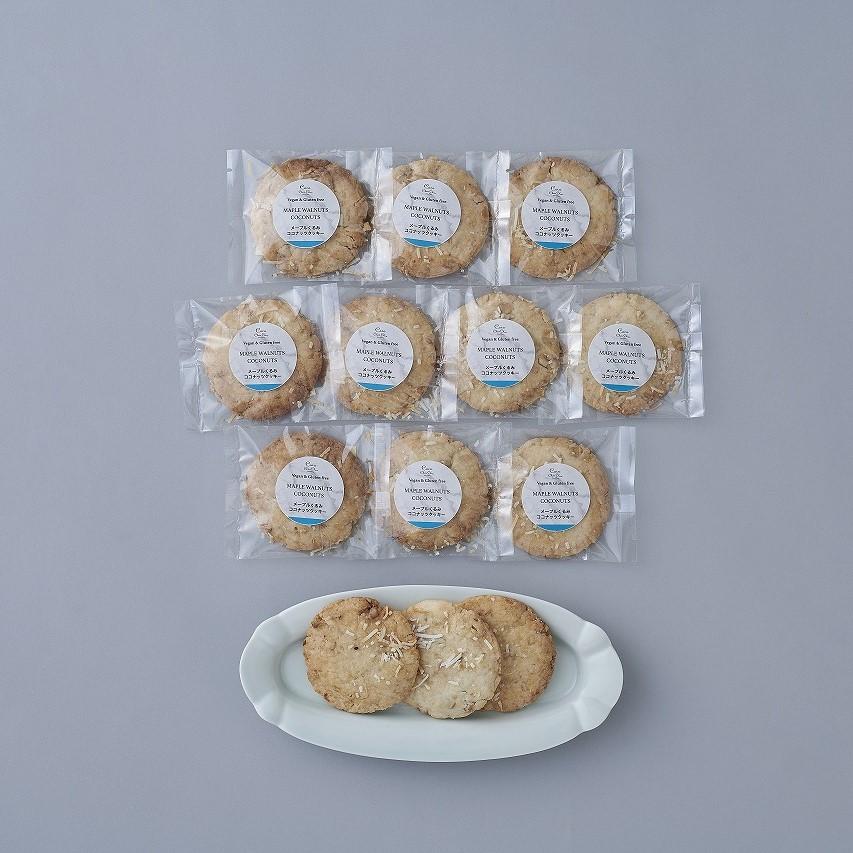 メープルくるみココナッツクッキー(10枚)