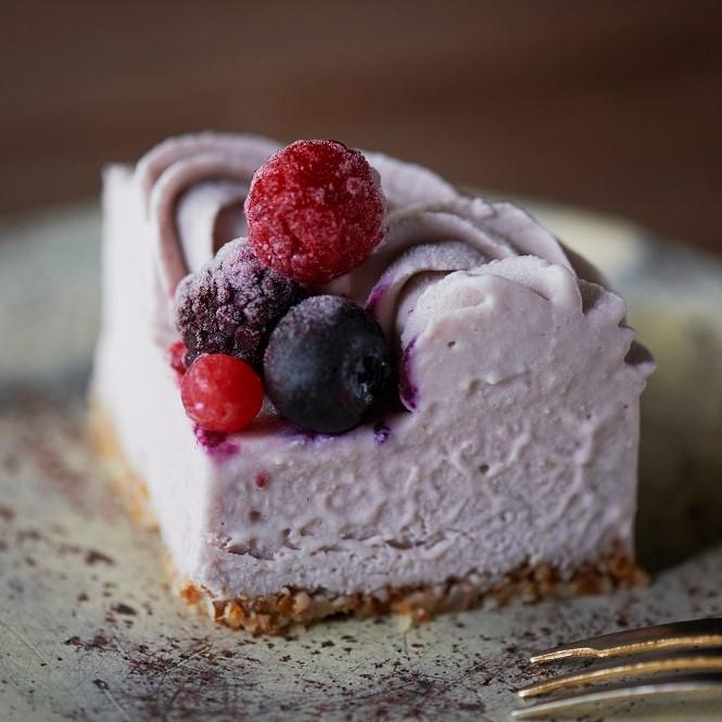 (12cm)ビーガンローストロベリーケーキ※卵・乳製品・小麦・白砂糖不使用 ヴィーガン&グルテンフリー