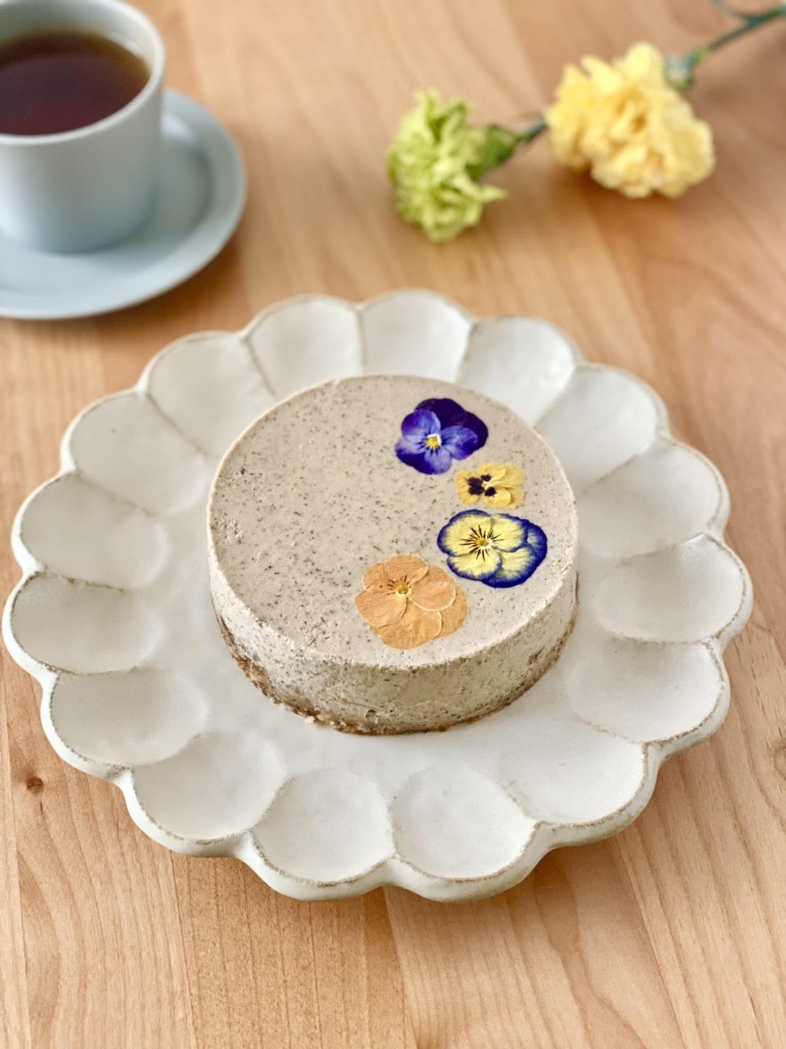 【限定】アールグレイ薫るフラワーアップルケーキ